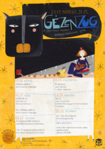 POSTER FOR PUPPET THEATRE FESTIVAL